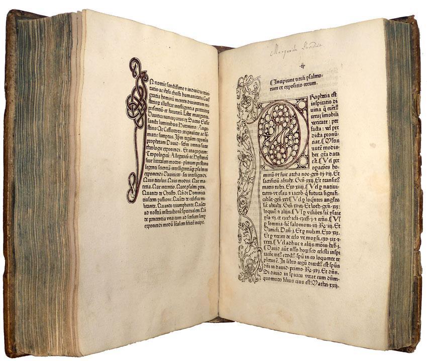Scrutinium scripturarum. [ Relié avec : ] Margarita Davitica: PAULUS DE SANCTA MARIA, [Paul ...