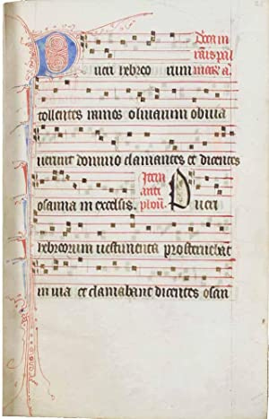 MANUSCRIT]. Processional à l'usage des Dominicaines de Saint-Louis-de-Poissy. En latin,...