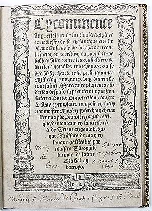 Cy commence ung petit livre de l'antiquité,: CHAMPIER, Symphorien