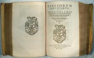 Testamentis Veteris Biblia Sacra, sive Libri canonici: BIBLE