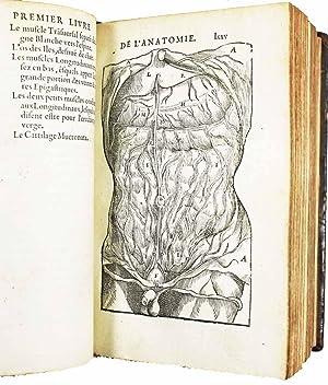Anatomie universelle du corps humain, composee par: PARE, Ambroise