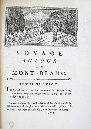 Voyages dans les Alpes, précédés d'un essai: SAUSSURE, Horace Bénédict
