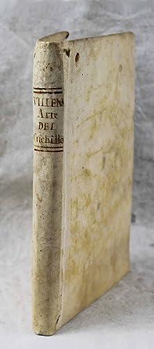 Arte cisoria, o tratado del arte del: VILLENA, Henrique de