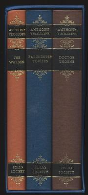 The Warden, Barchester Towers, Doctor Thorne [3 Volume Boxed Set]