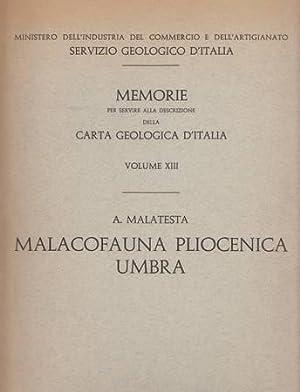 Malacofauna pliocenica umbra: Malatesta A.
