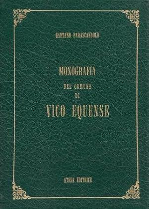 Monografia del Comune di Vico Equense distinta: Parascandolo Gaetano