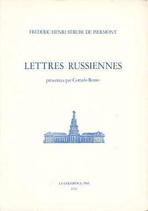 Lettres russiennes suivies des Notes de Catherine: Strube Frà dÃ