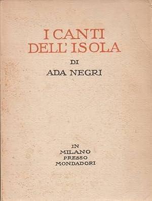 I CANTI DELL'ISOLA: NEGRI ADA