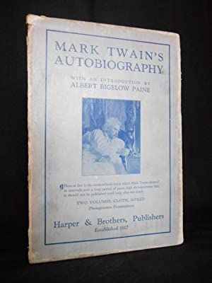 Mark Twain's Autobiography [WITH SLIPCASE]: Twain, Mark
