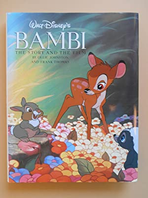 Walt Disney's Bambi, The Story and The Film, (WITH) Bambi, The Flip Book (BOTH books SIGNED by Ol...
