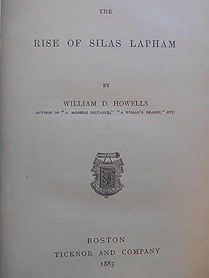 The Rise of Silas Lapham: Howells, William D.
