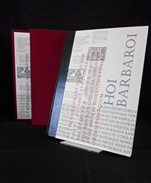 Hoi Barbaroi, a Quarter-Century at Barbarian Press (De luxe Edition)