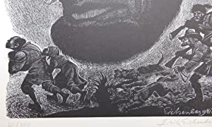 Homage: Twelve Prints by Fritz Eichenberg [SIGNED]; Dedicated to: Lao-Tsu, Michelangelo, Erasmus,...