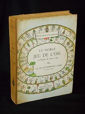 """Le Noble Jeu de L'Oie [""""The Noble: D'Allemagne, Henry-Rene; Janneau,"""