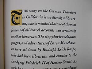 German Travelers in California: Madden, Henry Miller
