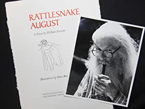 Rattlesnake August, A Poem by William Everson