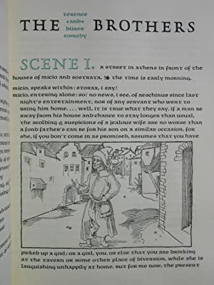 The Brothers; A Roman Comedy, 160 B.C.: Terence; Durer, Albrecht (Illustrations)