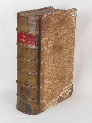Dictionarium Octolingue, In quo Latinis dictionibus Hebraeae,: Calepini, Ambrosii (Ambrogio