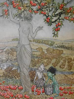 A Dish of Apples [Presentation copy by Author to Florence (Mrs. Thomas) Hardy]
