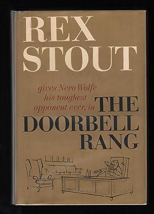 The Doorbell Rang; a Nero Wolfe novel: Stout, Rex