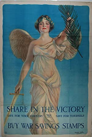 Share In The Victory : Save For Your Country, Save For Yourself : Buy War Saving Stamps (poster)....