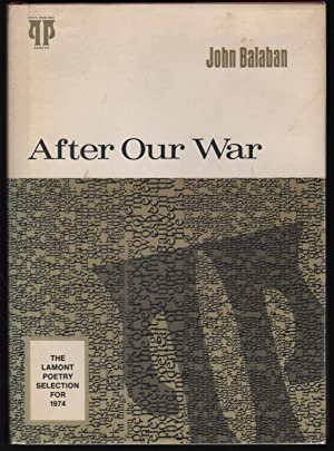 After Our War: Balaban, John