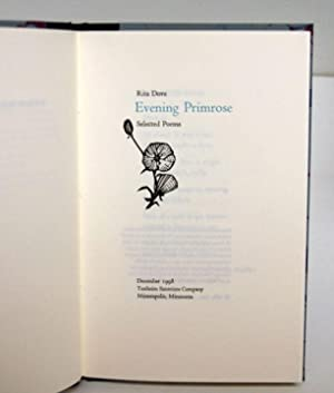 Evening Primrose; Selected Poems.