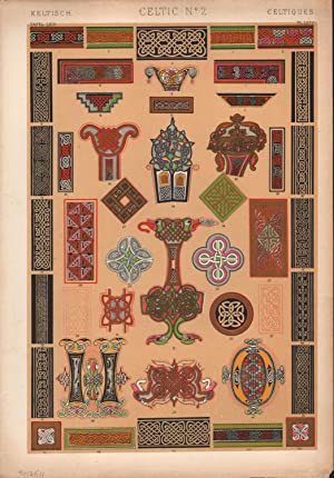 Celtic No. 2. (PRINT) (GRAMMAR OF ORNAMENT)
