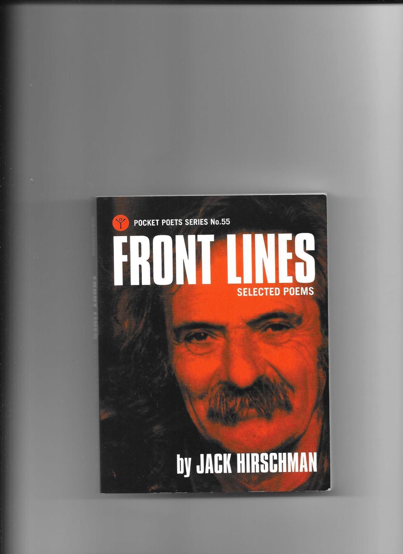 Front Lines - Selected Poems Hirschman Jack
