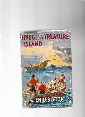 Five on a Treasure Island: Blyton Enid