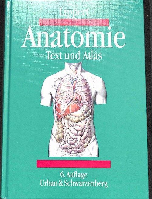 Anatomie ein Lehrbuch mit Text und Atlas, deutsche und lateinische ...