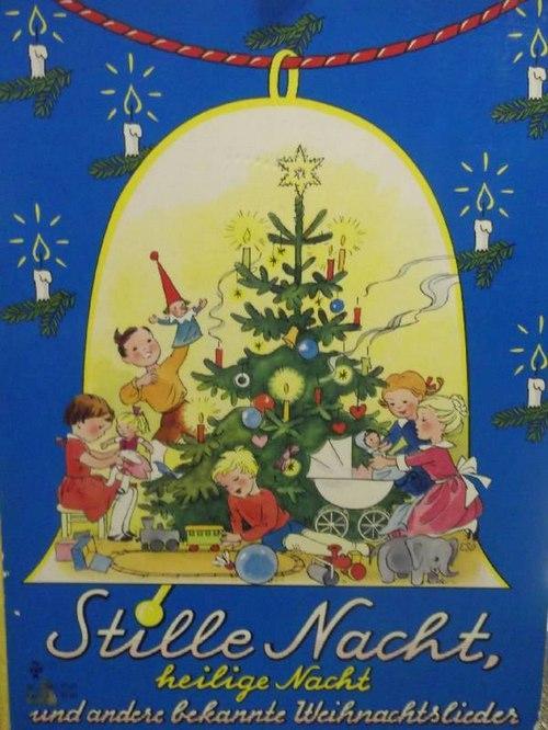 Bekannte Weihnachtslieder.Stille Nacht Heilige Nacht Und Andere