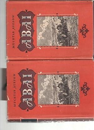 Abai erstes und zweites buch ein autobiographischer Roman übre das Leben kasachischer Nomaden ...