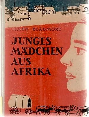 Junges Mädchen aus Afrika einen Geschichte für junge leute von Helen Bladmore mit Bildern...