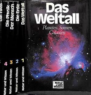 Natur und Wissen 8 bändiges Werk, vollständig 1.Weltall, Planeten Sonnen,Galaxien 2.Die ...