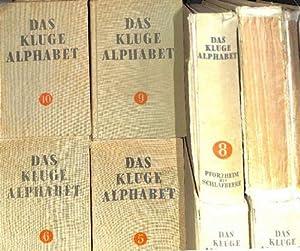 Das kluge Alphabet ein Konversations-Lexikon in zehn Bänden A-Bildung, Bildweite bis diplom, ...