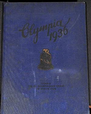 Olympia 1936 ,Die XI Olympiade Band 2 in Berlin und Garmisch Partenkirchen Sammelalbum mit ...