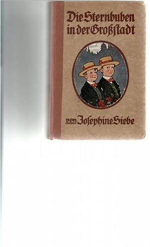 Die Sternbuben in der Großstadt eine heitere Geschichte für die Jugend von Josephine ...