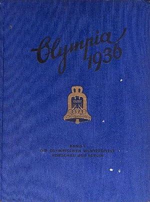 Olympia 1936 Band 1 die IV. Olympischen Winterspiele, Garmisch-Partenkirchen Sammelalbum vollst&...