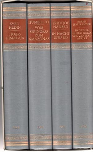In Nacht und Eis die norwegische Polarexpedition 1893 - 1896 von Fridtjof Nansen Vom Orinoko zum ...