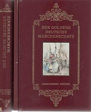 Der goldene deutsche Märchenschatz (Medienkombination) : Jahrhundert-Edition / Konzeption...