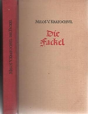 """Die Fackel 2. Teil eines Romanzyklus um die Hussiten und der Prozeß gegen den """"Ketzer&..."""