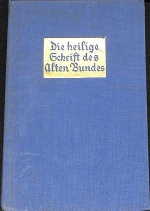 Die Heilige Schrift des Alten Bundes herausgegeben von Pius Parsch band 1 geschichtliche bü...