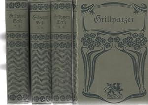 Grillparzers Werke in acht Bänden mit einer Einleitung von Heinrich taube: Grillparzer, Franz