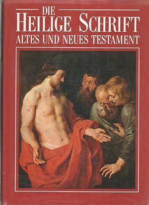 Die Heilige Schrift des Alten und Neuen Testaments. Vollständige Ausgabe, nach den Grundtexten...