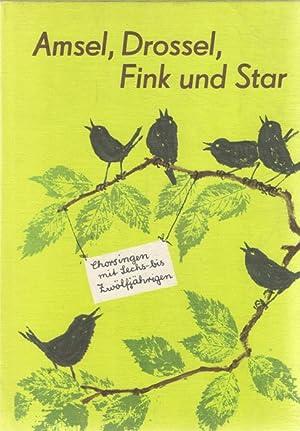 Amsel, Drossel ,Fink und Star ,Chorsingen mit: Christian Lange