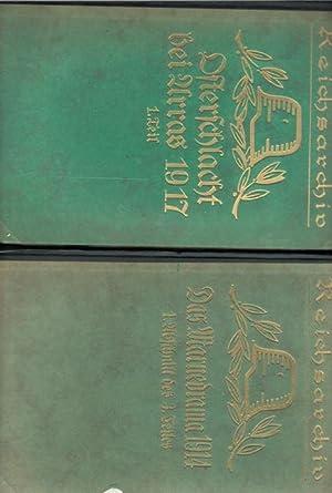 Schlachten des Weltkrieges 36 bändig in 38 Büchern aus dem Reichsarchiv und Band 1: Der ...