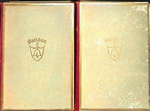 Tagebücher der Henker von Paris 1685- 1847 - beide Bände/ Henri Sanson: Sanson, ...