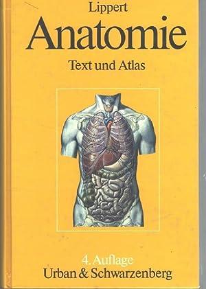 Anatomie Text und Atlas, deutsche und lateinische: Lippert, Herbert
