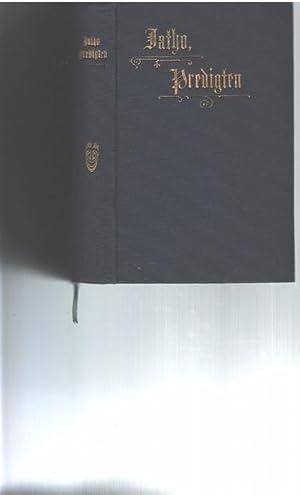 Predigten von Carl Jatho Pfarrer in Köln: Jatho, Carl